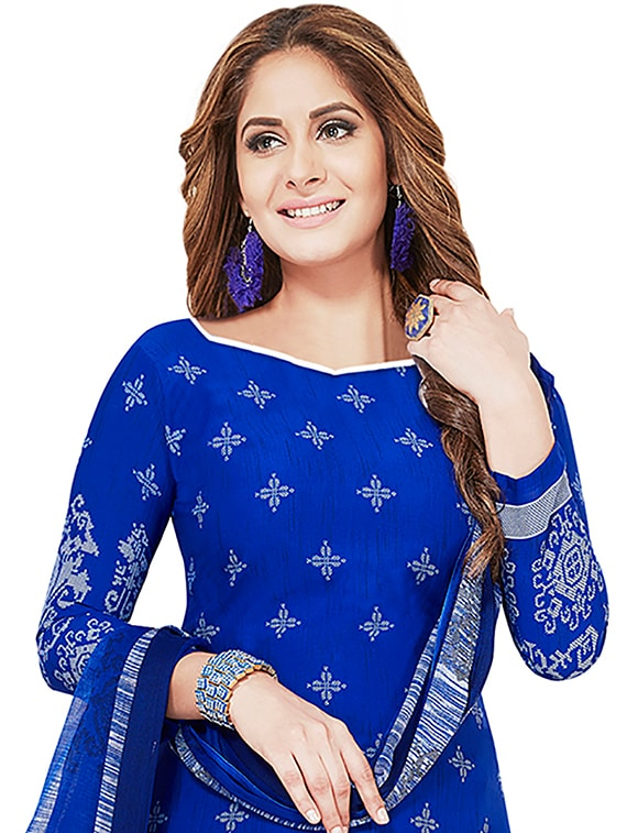 1a537783b36 Buy Printed Unstitched Salwar Suit for Women from Ishin for ₹501 at 54% off