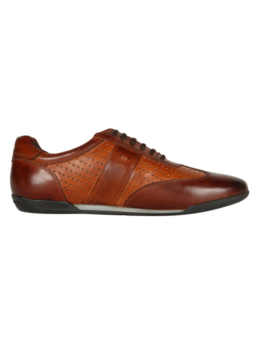 a66d20997 Buy Brown Leather Lace Up Sneaker for Men from Louis Philippe for ₹3949 at  21% off