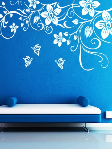 ButterFly Floral Wall Decal - 15245144 - Standard Image - 1