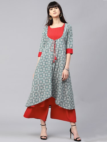 1a26882ab89 Kurta Palazzo sets for college girls