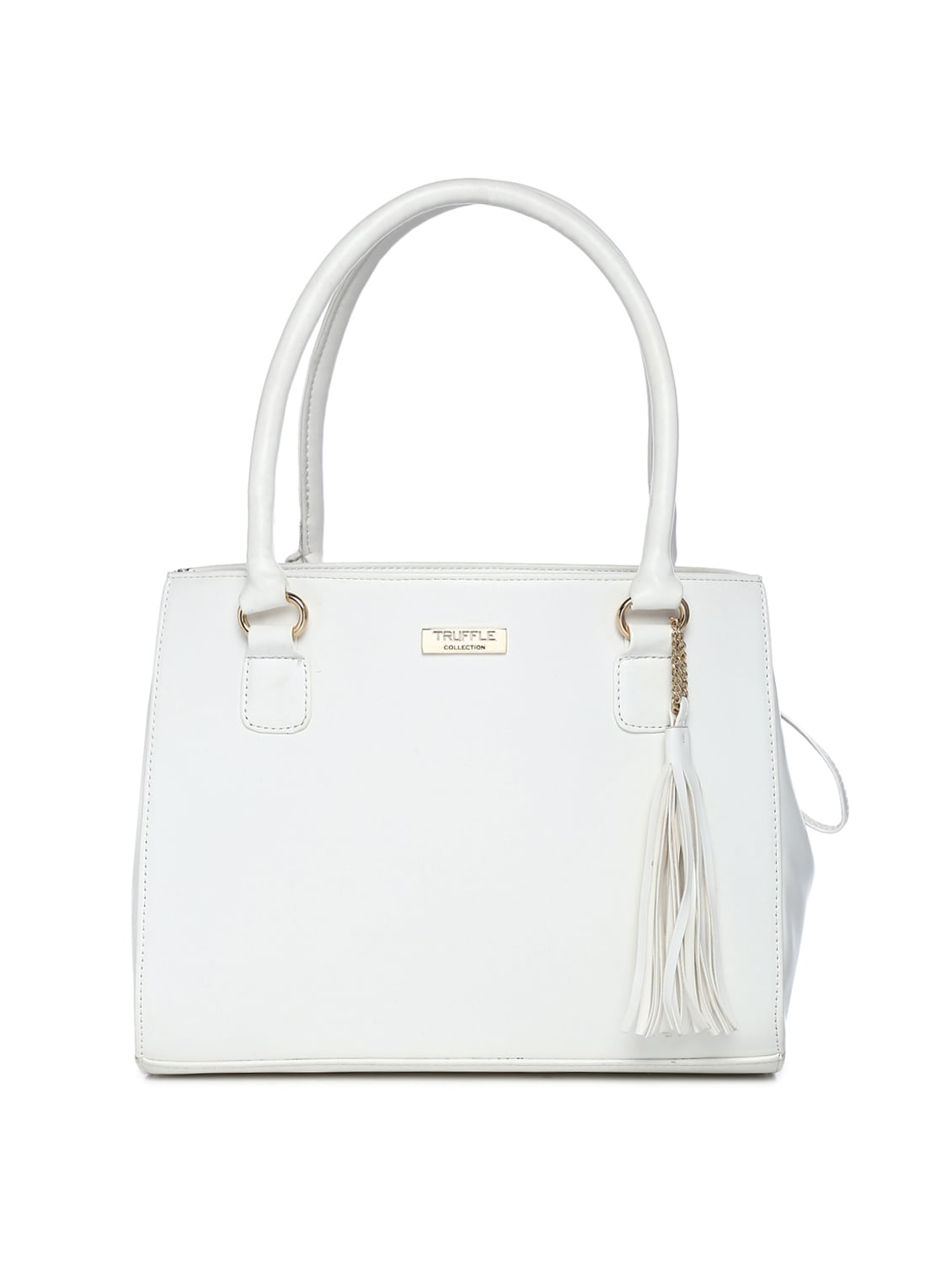 6f4b4116ea8 Buy White Leatherette (pu) Regular Handbag by Truffle Collection - Online  shopping for Handbags in India