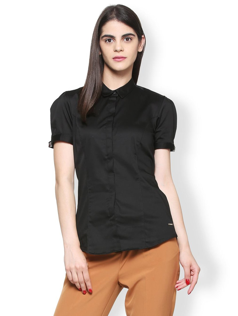 6cd0c7a8cfcc54 Buy Front Dart Detail Formal Shirt for Women from Van Heusen for ₹833 at  51% off | 2019 Limeroad.com