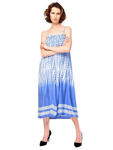 bcd859f5260 Buy Blue Viscose Tube Dress for Women from Cj15 for ₹583 at 51% off ...