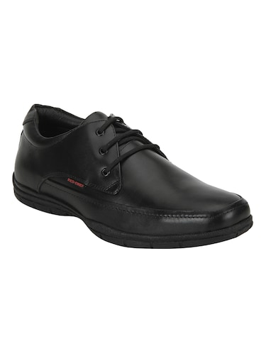 red chief black Leather lace-up derby - 15289404 - Standard Image - 1