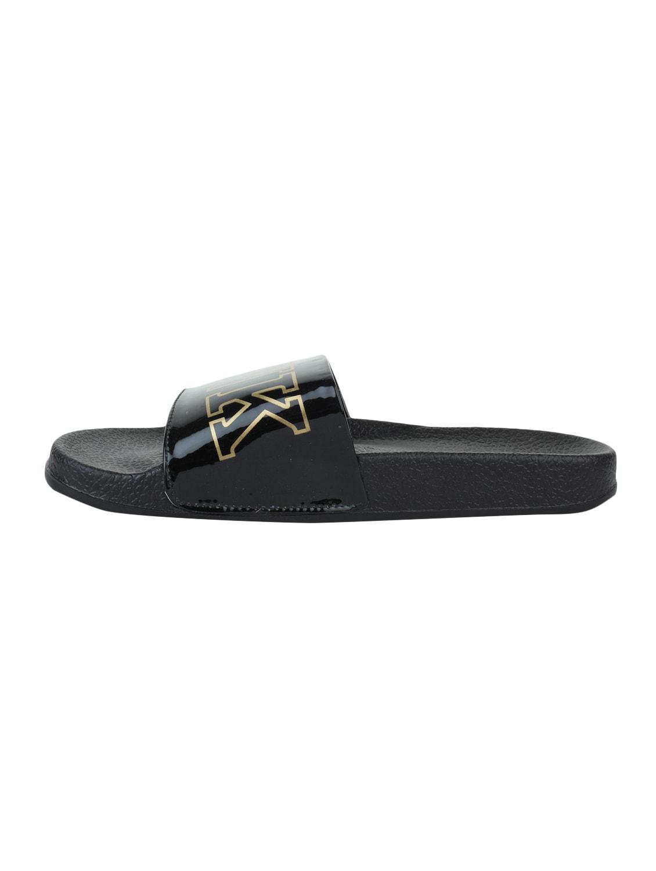 366d2b3cd5c8 Buy Black Rubber Slides Flip Flops for Women from Adobo for ₹500 at 50% off