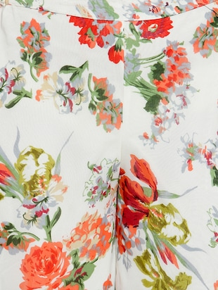 Floral printed flared palazzo - 15308758 - Standard Image - 4