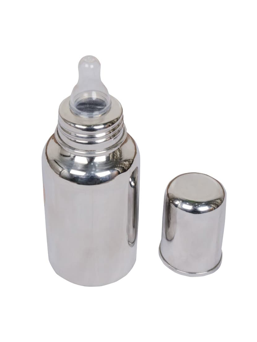 e4976ddaa Buy Silver Stainless Steel Milk Bottle for Women from Dynore for ₹470 at  37% off