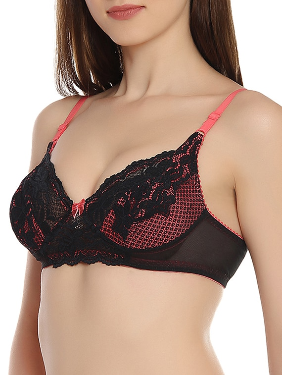 bb8aa63e43 Buy Lace Non Padded Bra for Women from Innocence for ₹700 at 22% off