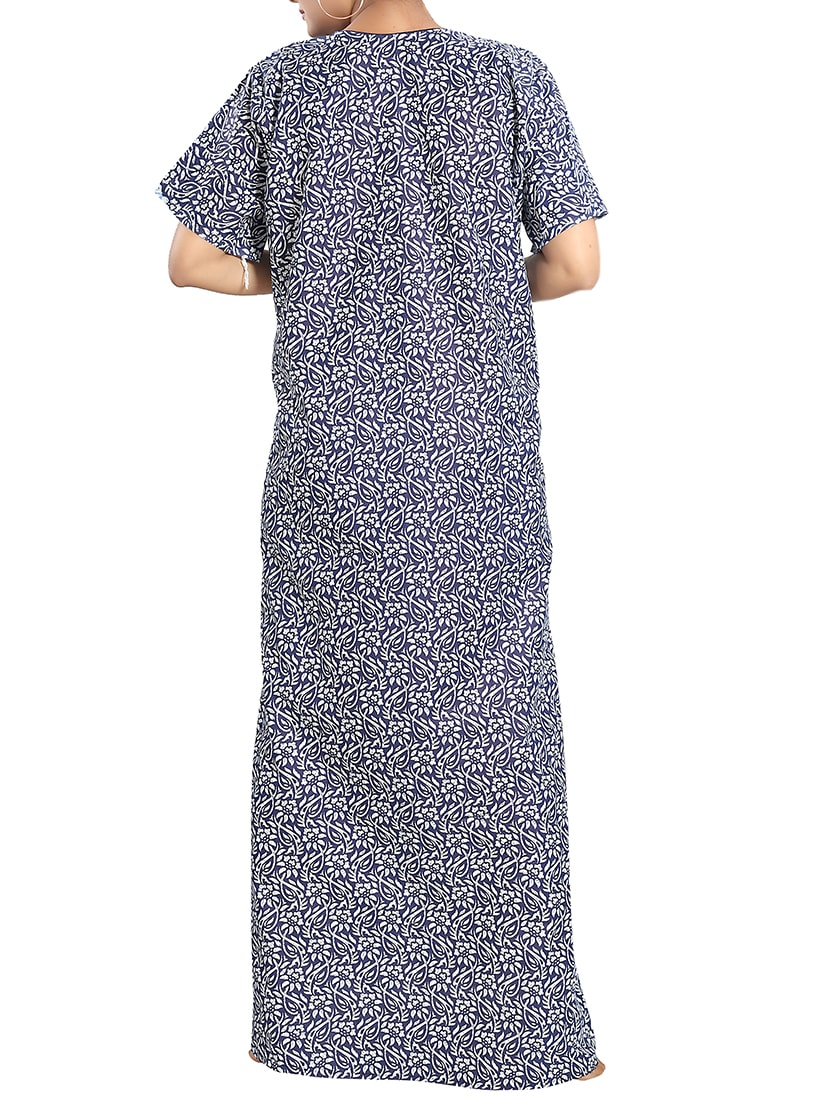 Buy Printed Nightwear Gown by Cinco - Online shopping for Gowns   Kimonos  in India  3f54a0e86