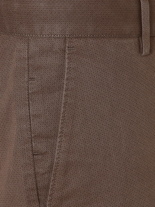brown cotton chinos - 15328003 - Standard Image - 4