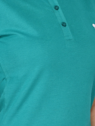 short sleeved polo tee - 15328245 - Standard Image - 4