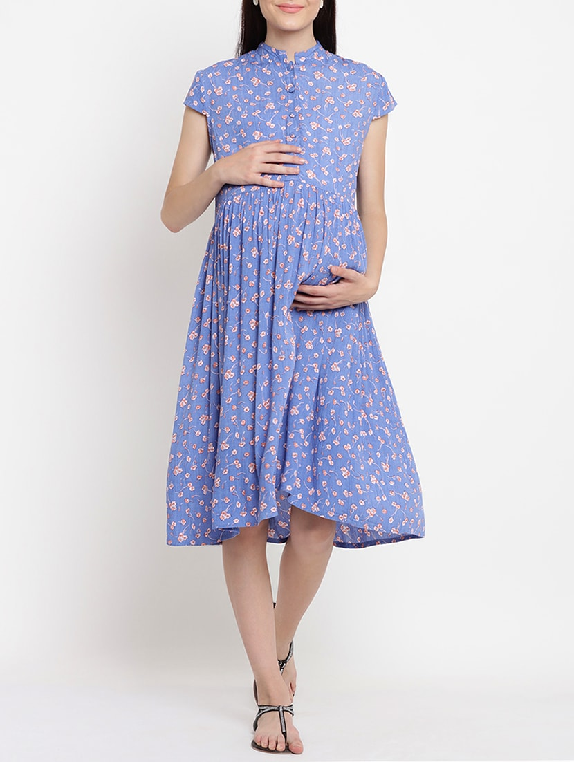 0670103a534 Buy Floral Maternity Dress for Women from Mine4nine for ₹1049 at 58% off