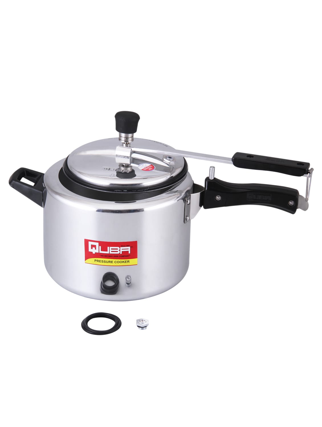 6294dafb7 Buy Aluminium Regular 3 Litre Pressure Cooker With Induction Bottom  ( aluminium) for Unisex from Quba for ₹963 at 21% off