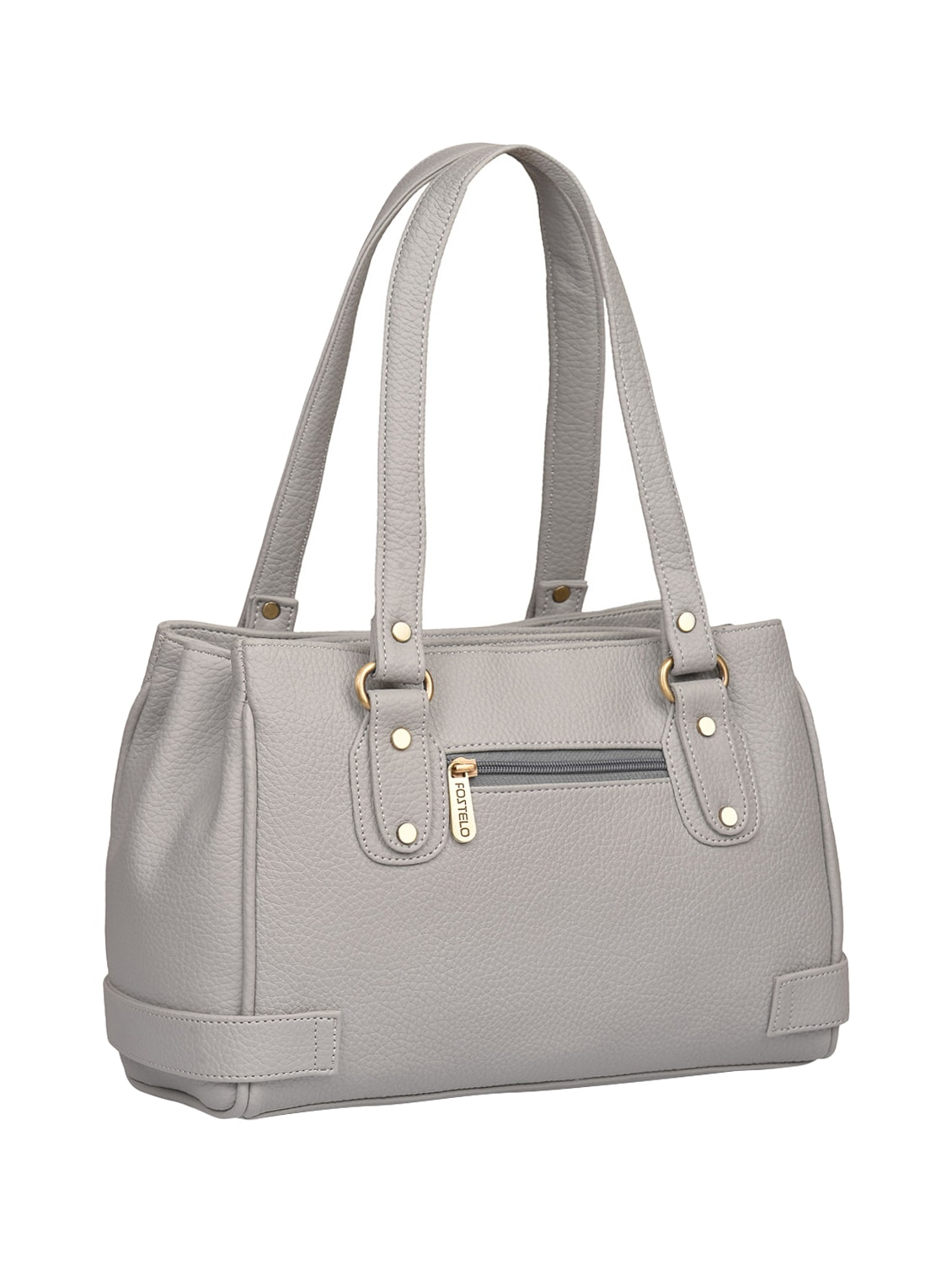 825b04e5e04 Buy Grey Leatherette (pu) Regular Handbag for Women from Fostelo for ₹799  at 65% off | 2019 Limeroad.com