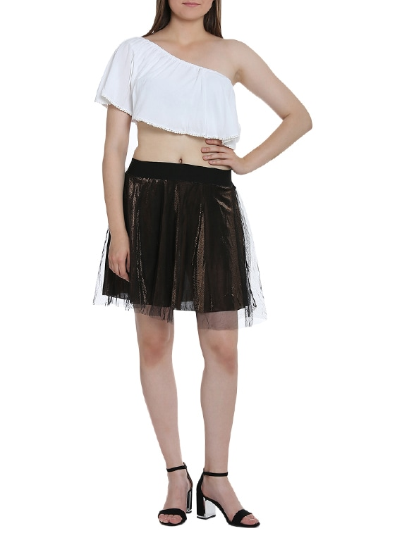 242c21a260 ... black tulle mini skirt - 15335976 - Zoom Image - 4