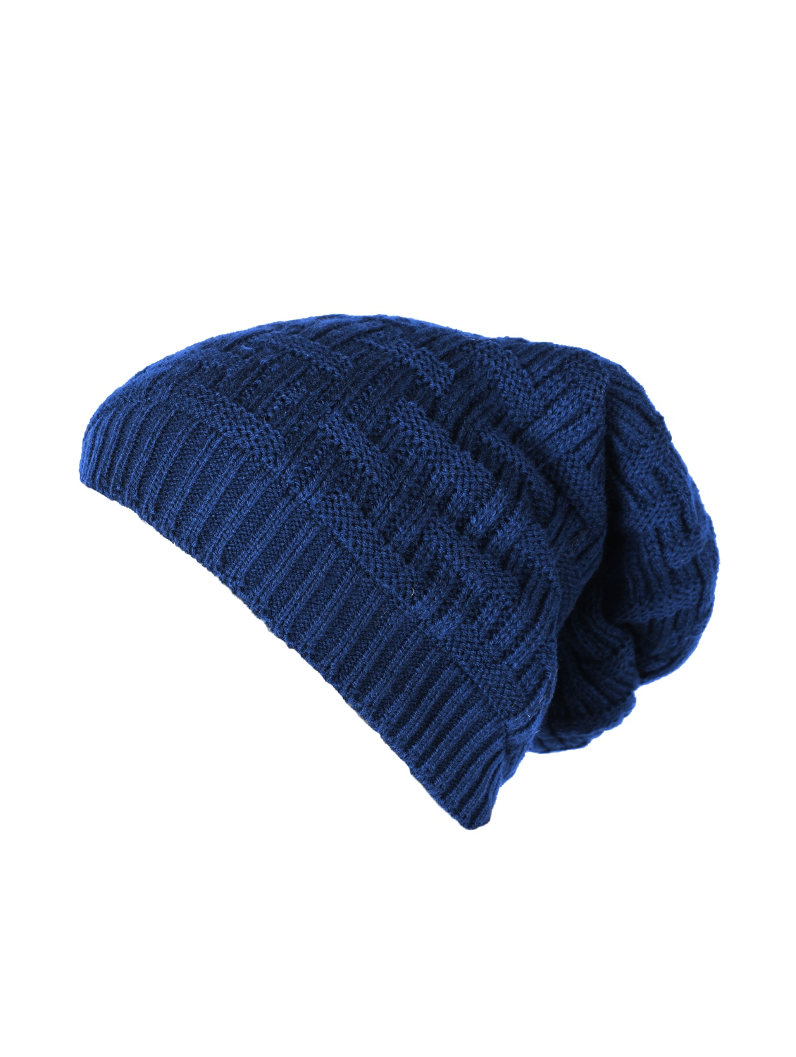 Buy Blue Wool Beanies Cap by Knotyy - Online shopping for Caps And Hats in  India  af2ffa5928e