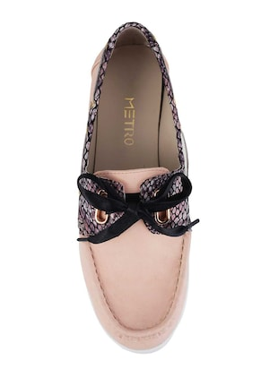 pink slip on loafers - 15340052 - Standard Image - 4