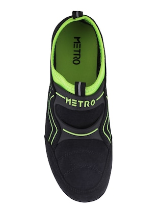 green slip on casual shoes - 15340059 - Standard Image - 4