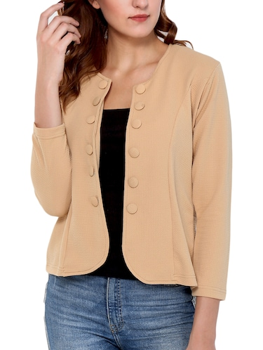 Button detail summer jacket - 15345131 - Standard Image - 1