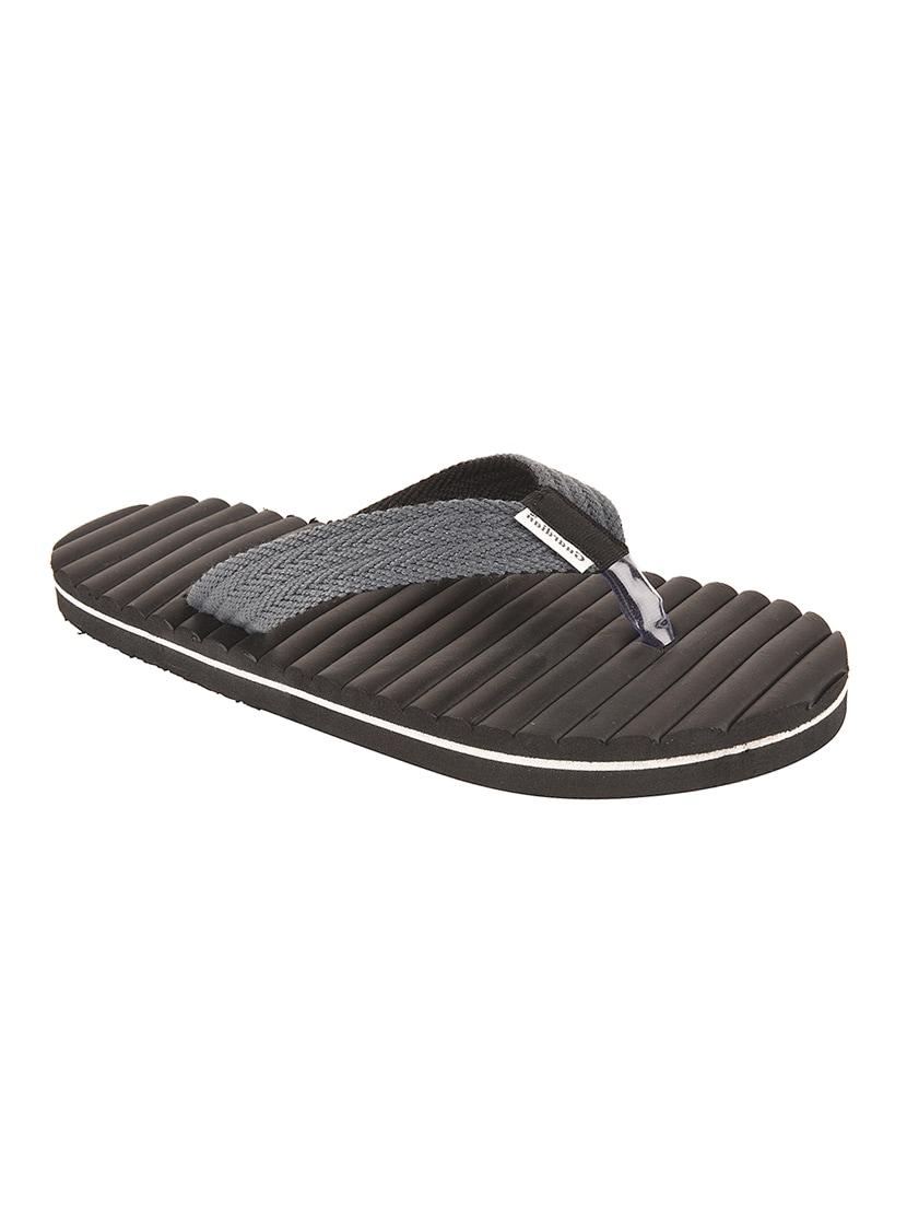 8e558c6fbe7e Buy Black Fabric Toe Separator Flip Flop for Men from Drunken for ₹513 at  46% off