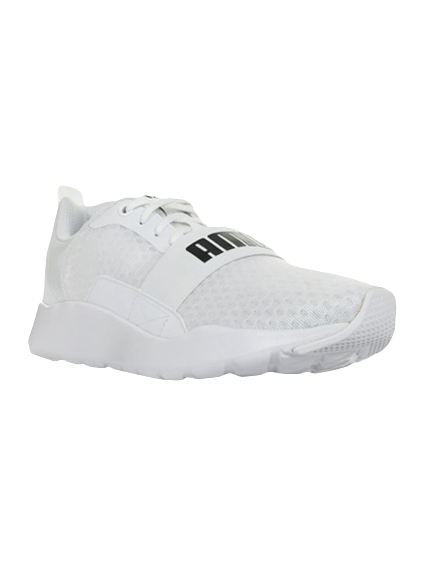 ab07d677b8a0 Buy White Mesh Sport Shoes by Puma - Online shopping for Sport Shoes in  India