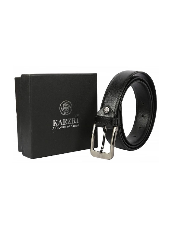 039dbf2164f Buy Black Leather Belt for Men from Kaezri for ₹388 at 87% off ...