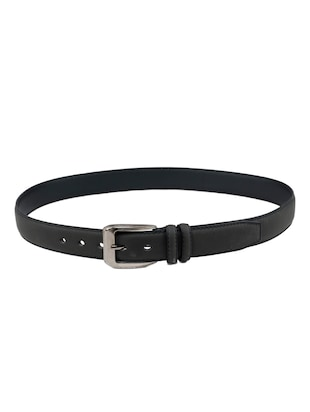black leatherette belt - 15398234 - Standard Image - 4