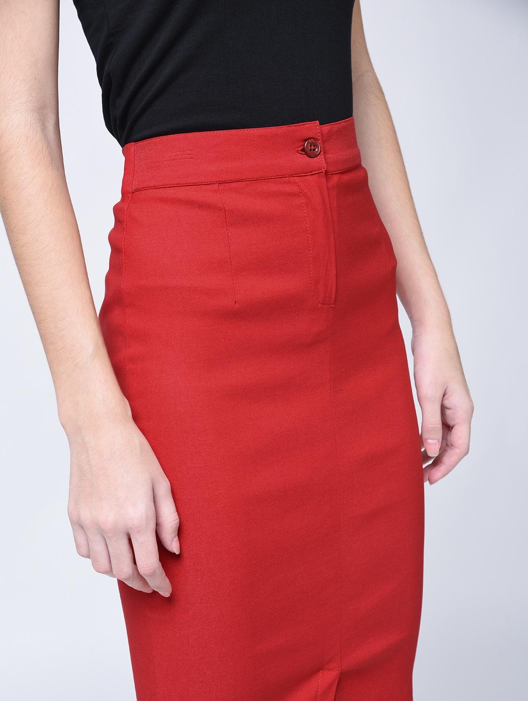 4bce6fc692 High Waist Pencil Skirt