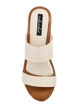 white platforms wedges - 15416127 - Standard Image - 4
