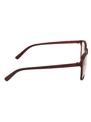 Arzonai Wayfarer Brown-Transparent UV Protection Eyeglasses [MA-318-S2 ] - 15420475 - Standard Image - 4