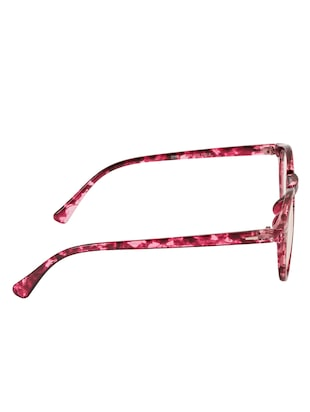 Arzonai Round Maroon-Transparent UV Protection Eyeglasses [MA-401-S4 ] - 15420530 - Standard Image - 4