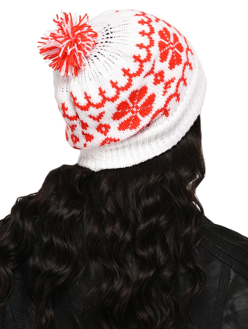 Buy Pom Pom Top Round Cap by Vr Designers - Online shopping for Caps in  India  26e3f429883