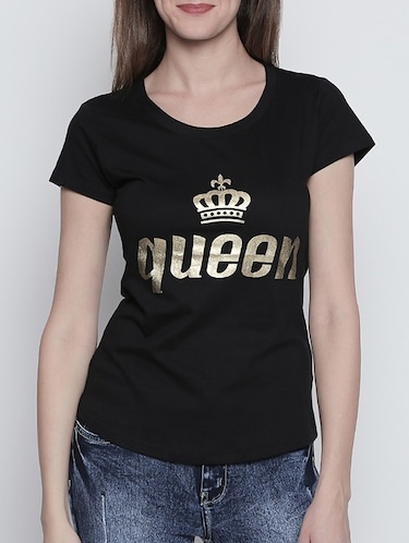 0692667b0 Black t shirt - Buy Black t shirt Online at Best Prices in India -  LimeRoad.com