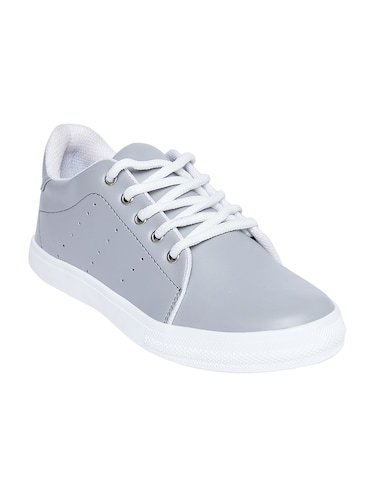 grey colour casual shoes - 56% OFF