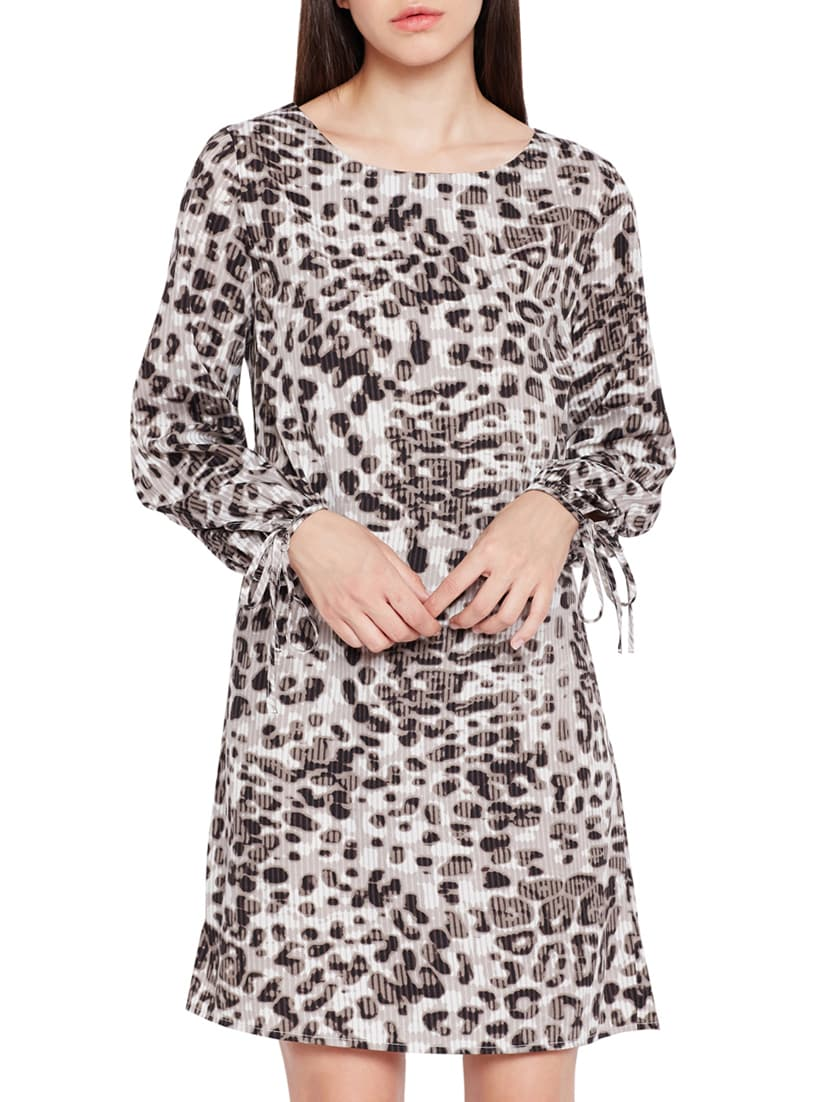 b7ccd16508 Buy Animal Print Shift Dress by Oxolloxo - Online shopping for Dresses in  India