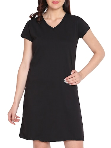 3a3aca794d Buy black nighty cotton in India   Limeroad