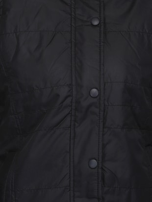 quilted & padded hooded jacket - 15432489 - Standard Image - 4