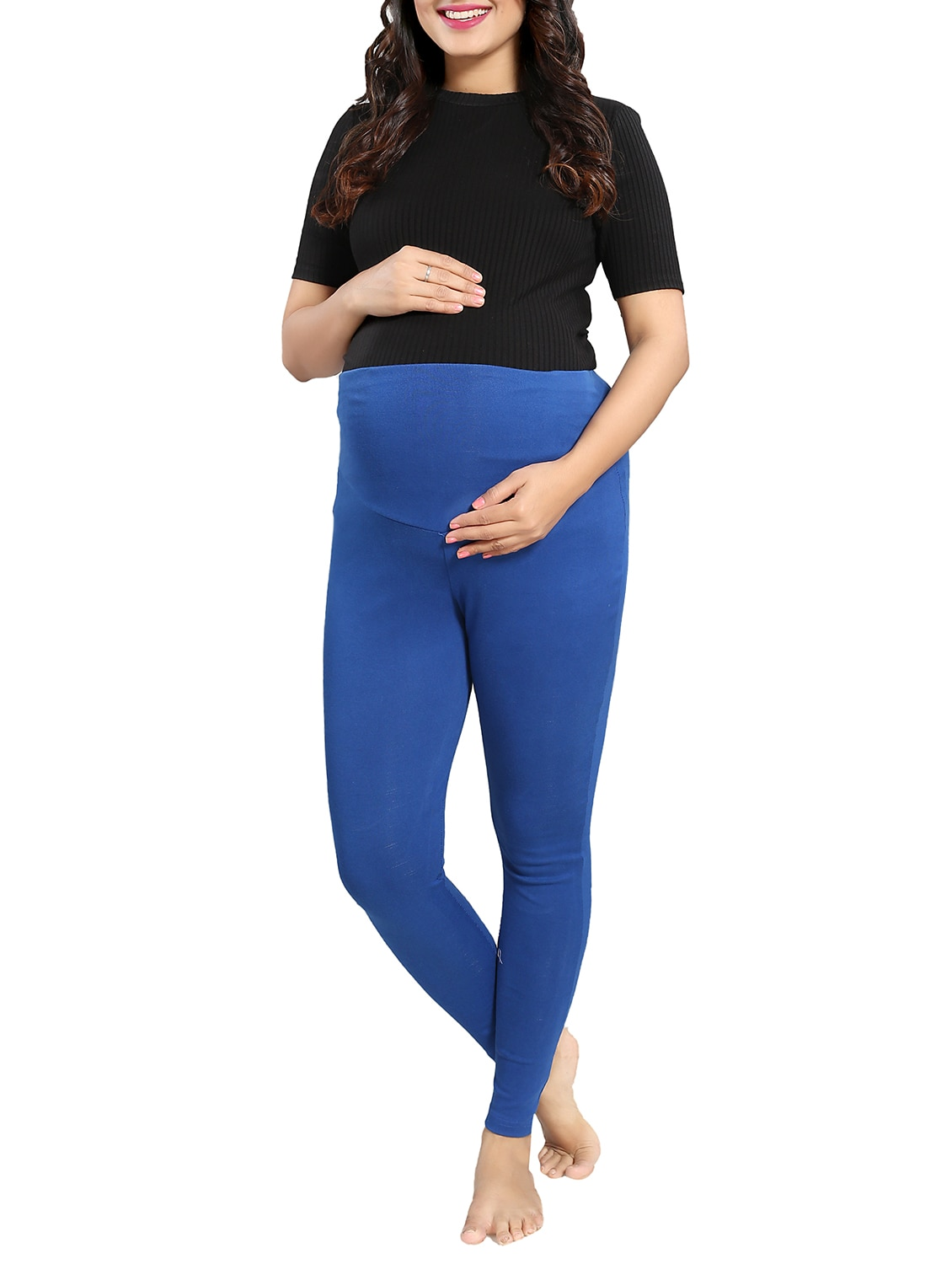 f793d176199fb Buy High Waist Maternity Jegging for Women from Mamma's Maternity for ₹899  at 44% off | 2019 Limeroad.com
