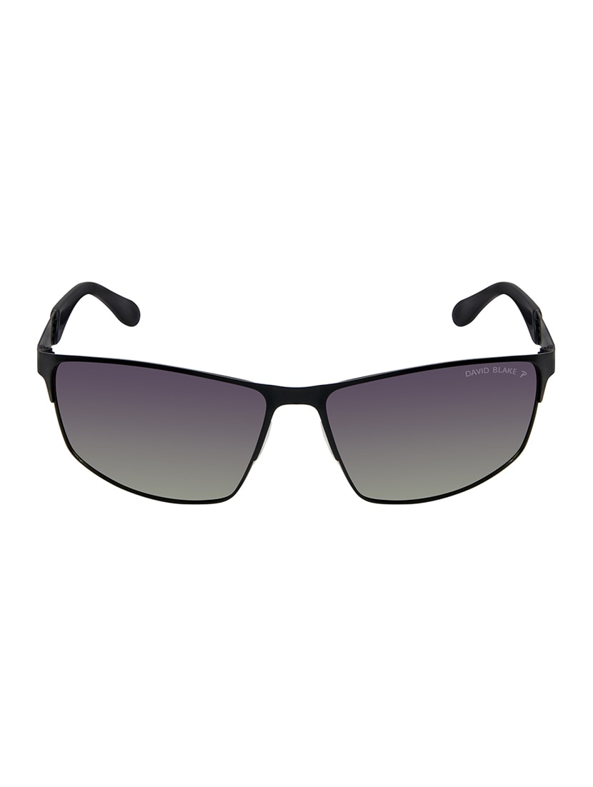 1cfe2cab334 Buy David Blake Green Rectangular Gradient Polarized Uv Protection Sunglass  by David Blake - Online shopping for Men Sunglasses in India