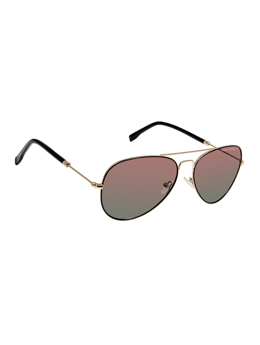 be5a86c07c6 Buy David Blake Green Aviator Gradient Polarized Uv Protection Sunglass by David  Blake - Online shopping for Men Sunglasses in India