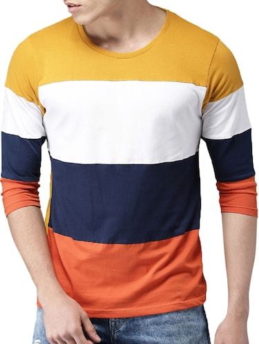 multi colored cotton cut & sew t-shirt - 15454948 - Standard Image - 1