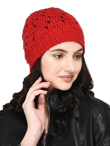 Knitted round cap - 15455810 - Standard Image - 1