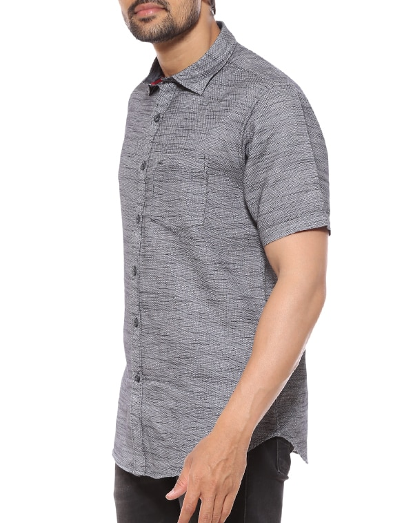 dd8460ebb07 Buy Grey Cotton Casual Shirt by Summer Line - Online shopping for Casual Shirts  in India