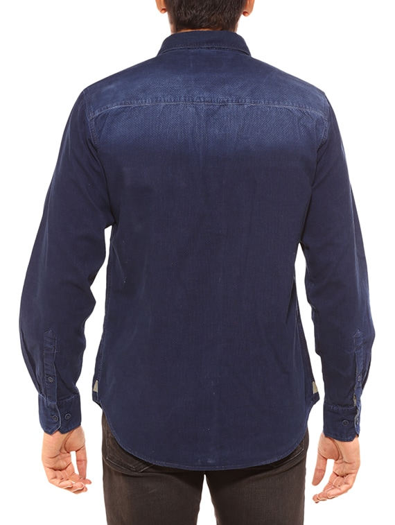 f04bb454ca6 Buy Blue Cotton Casual Shirt by Summer Line - Online shopping for Casual Shirts  in India