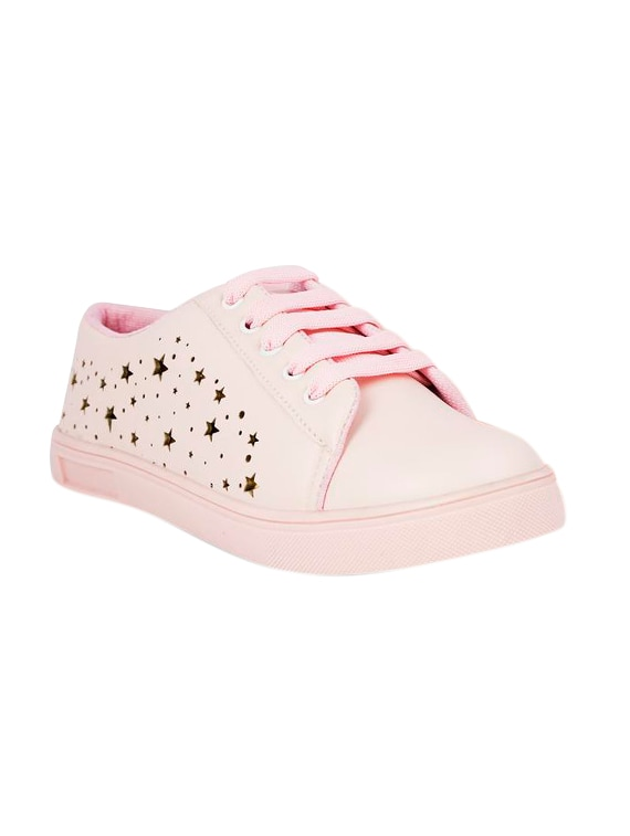 29760cd343db Buy Pink Lace-up Sneakers for Women from Ne Shoes for ₹528 at 47% off