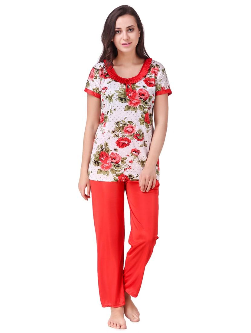... floral sleepwear robe   pajama set - 15464790 - Zoom Image - 4 66297f4a1