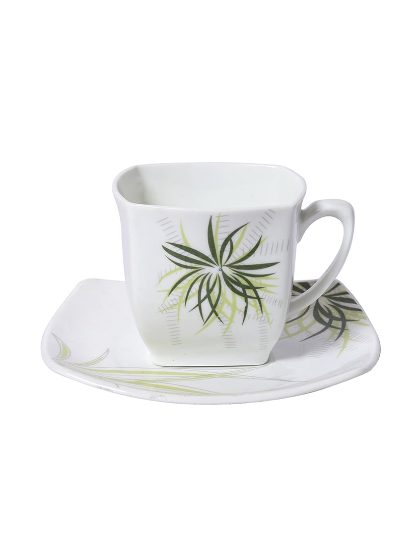 Set Of 6 Bone China Coffee Tea Cups Saucers By Kraft Mania Online Ping For