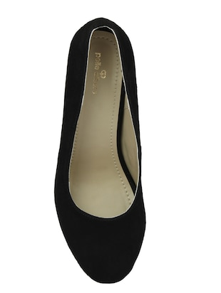 black slip on pumps - 15477248 - Standard Image - 4
