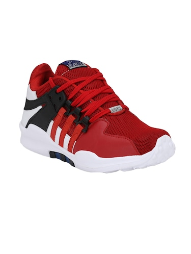 red Mesh sport shoes - 15483103 - Standard Image - 1