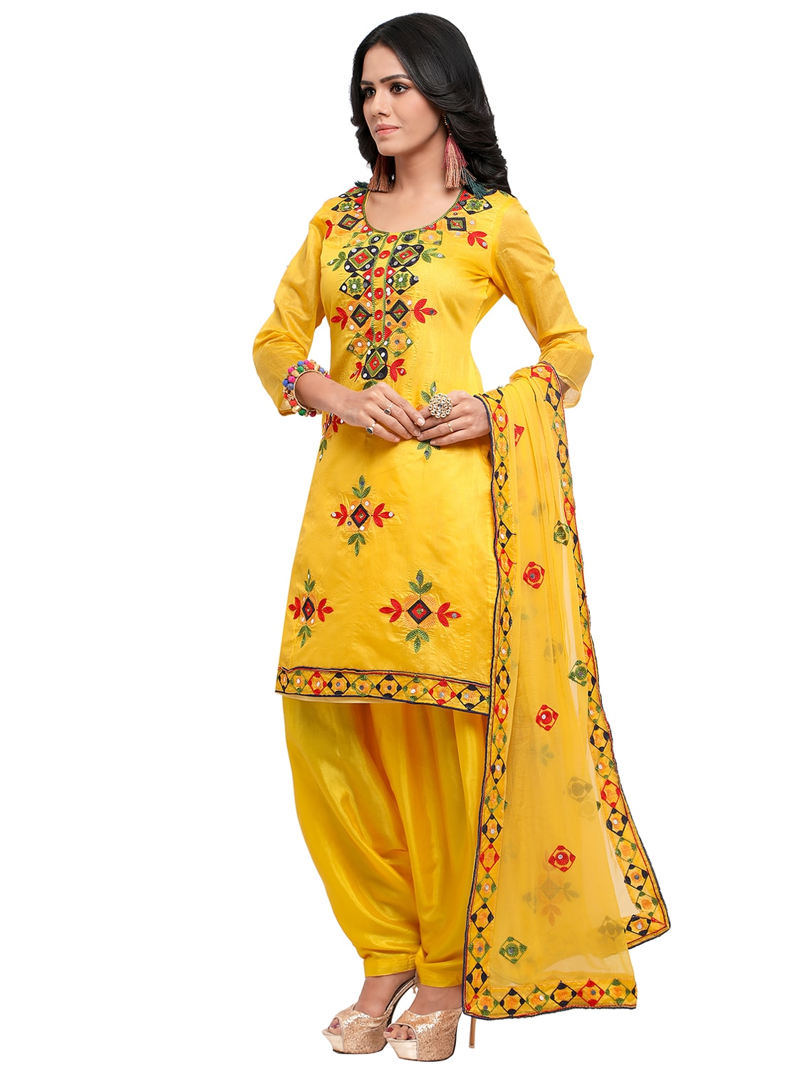 c9babcdab5 Embroidered Unstitched Salwar Suit